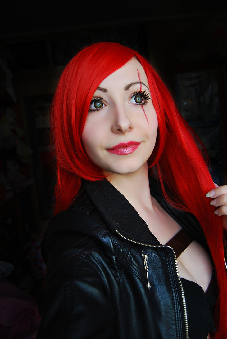 Katarina makeup by IRA-PUSSYCAT