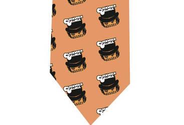 mechanic orange Tie by CoolTies