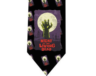 Night of the Living Dead tie - model 2 by CoolTies