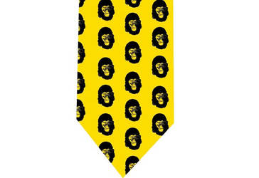 Planet appes tie detail by CoolTies