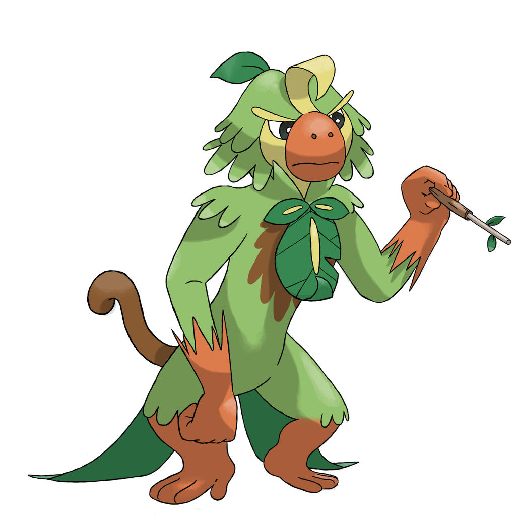 Monzart Fakemon Evolution Grookey Line By Chesskadoodles On Deviantart The groove line by heatwave. monzart fakemon evolution grookey line