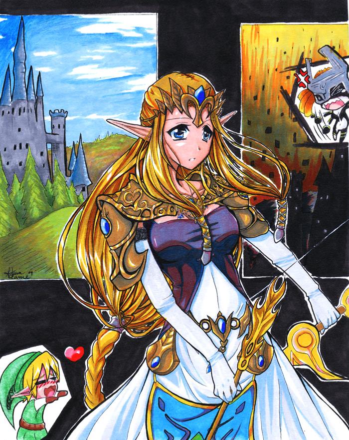Zelda Twilight Princess By Autumnology On Deviantart