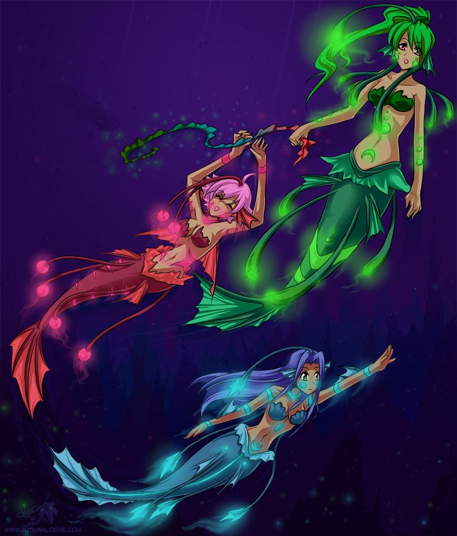 Deep Sea Mermaids by Autumnology on DeviantArt