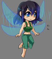 Commission - Chibi Nixie by Autumnology