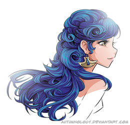 Aisling Duval - dat hair by Autumnology