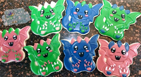 Baby cookie dragons