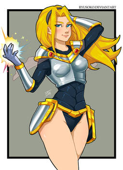Lux from League of Legend - Commissions