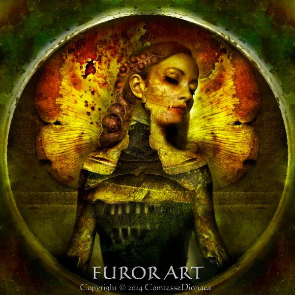 Goddess Of Rotten Love by FurorArt