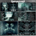 Hymns Of Ahriman by FUROR ART ONTOGENY CD Booklet