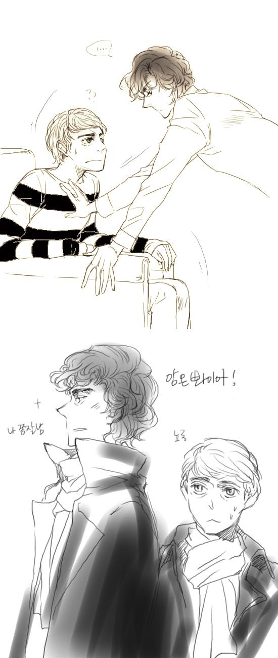Sherlock doodle by madtenka