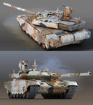 T-90MS tank