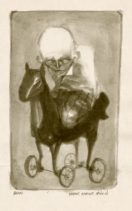 freak show-The rocking horse by souksavat-bardon