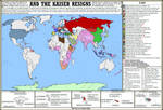 And The Kaiser Resigns - alternate history map
