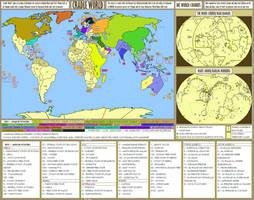 Cradle World - an alternate history map by SRegan