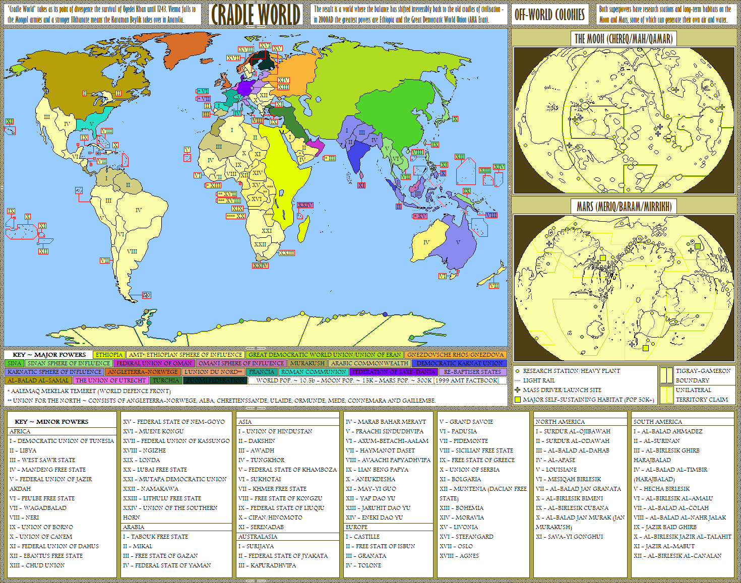 Map Australia 4371.Cradle World An Alternate History Map By Sregan On Deviantart