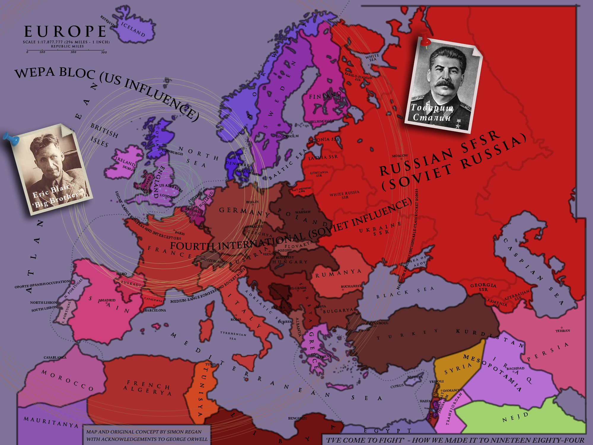 I've Come To Fight' - How We Made It To 1984 by SRegan on ...  World Maps Alternate History on alternate history london, ww2 alternate history map, alternate history united kingdom, alternate american history map, alternate history thailand, world history interactive map, alternate history united states of america, alternate history poland, alternate history mexico, alternate history us map, alternate history europe map, alternate history south america, 3rd reich alternate history map, alternate history india, alternate history countries, alternate history austria, alternate history ww1, alternate history asia, alternate history egypt, alternate history hungary,