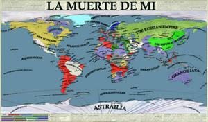 La Muerte De Mi - an alternate history map