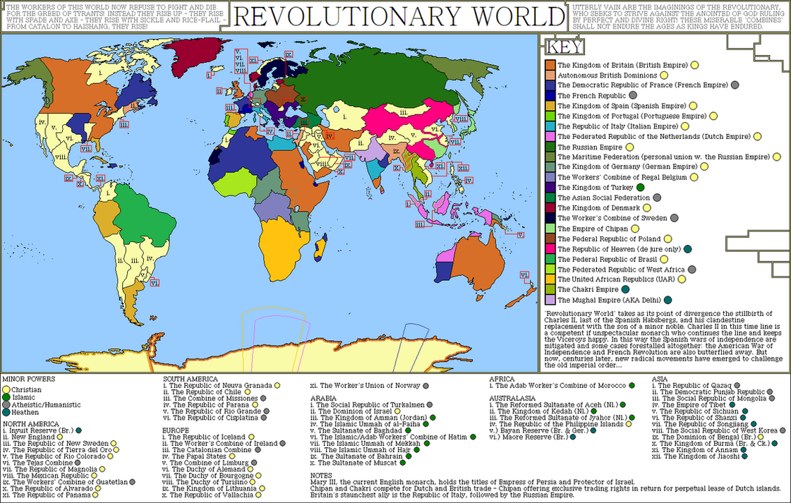 Revolutionary world an alternate history map by sregan on deviantart revolutionary world an alternate history map by sregan gumiabroncs Gallery