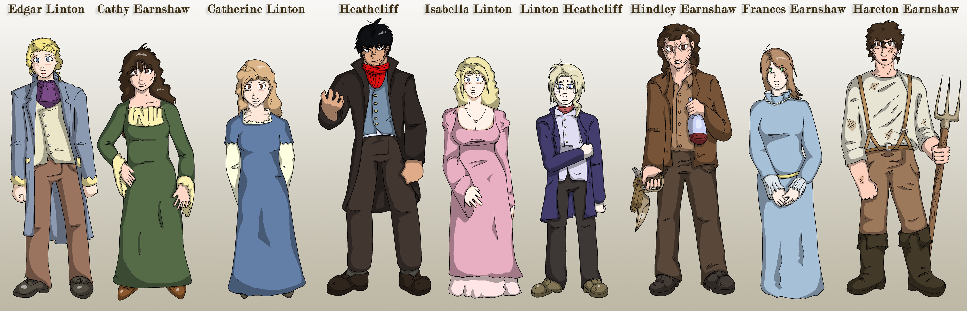 wuthering heights character designs by sregan on wuthering heights character designs by sregan wuthering heights character designs by sregan