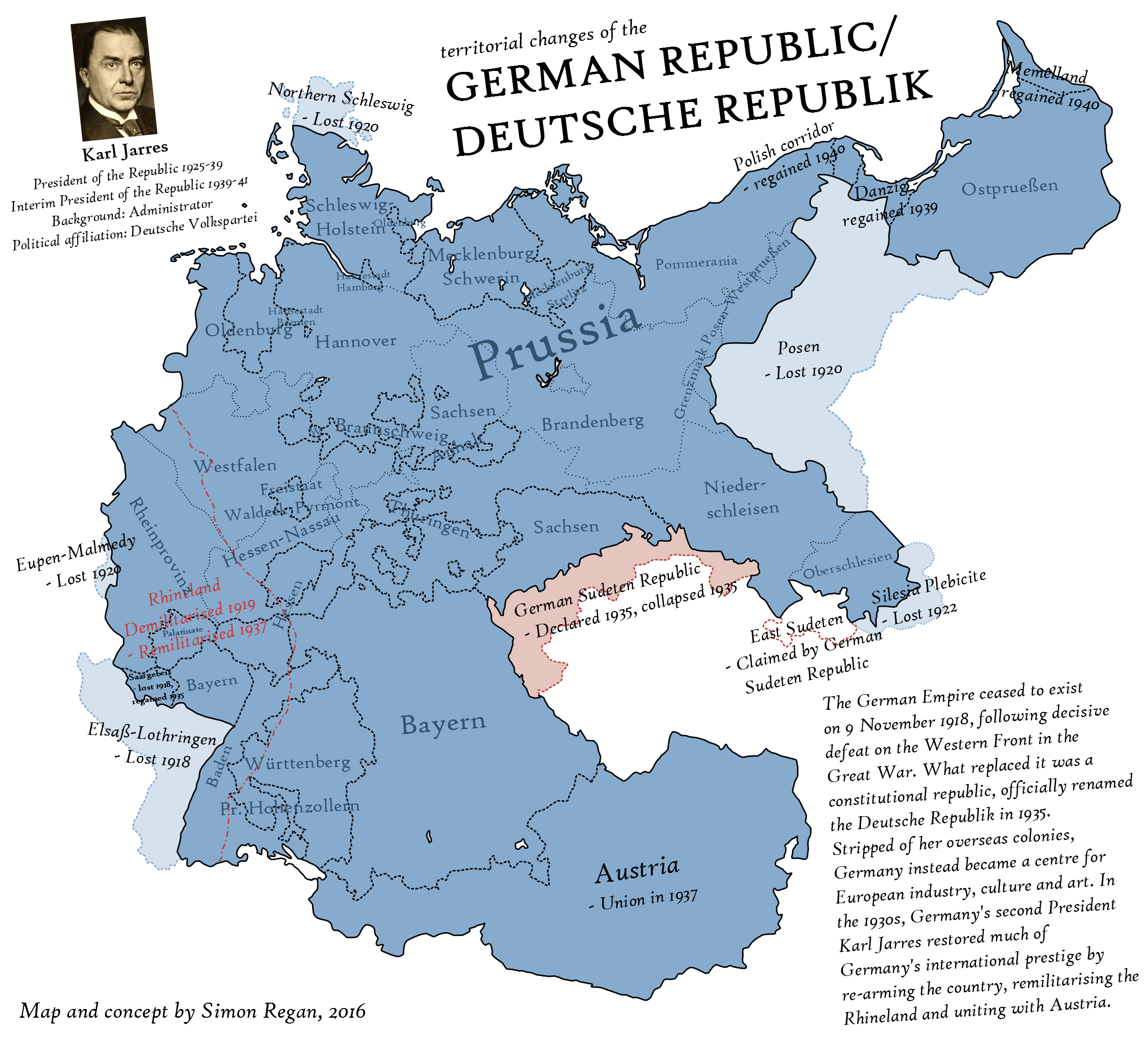 ... Weimar Forever   An Alternate History Map By SRegan