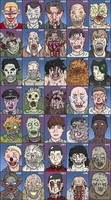 Zombie Supercut - character design