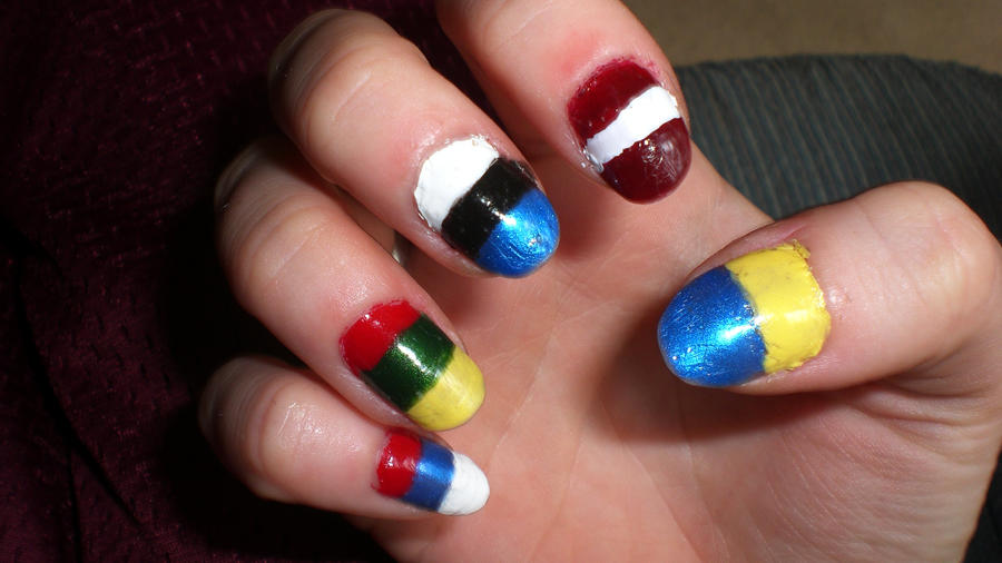 Russian Nail Art Choice Image Ceasy Nail Art Designs For Beginners