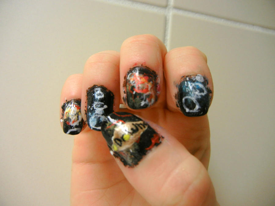 Dr. Who Nail Art by Ginger-Curls on DeviantArt