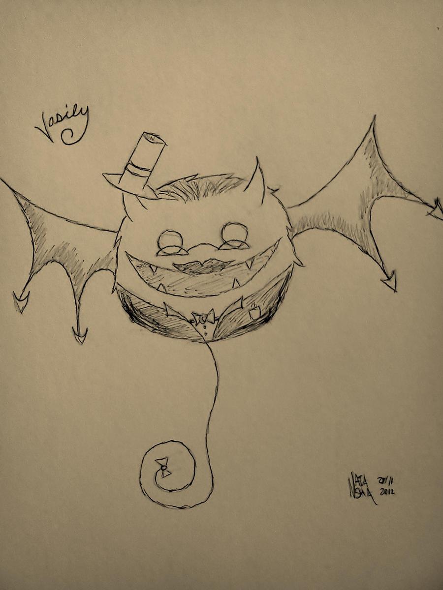 Vasily on Halloween by CeraLuna
