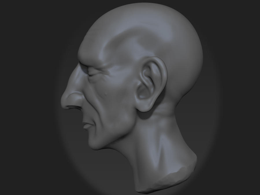 11-18-12 2hour Speed Sculpt Side View by Rafferty-Eggleston