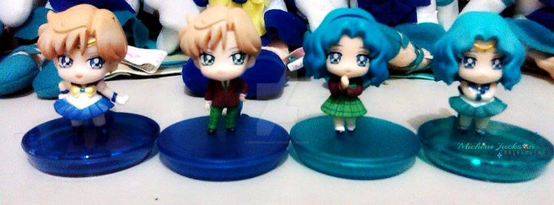 Sailor Uranus and Sailor Neptune HaruMichi by MichiruPLANET