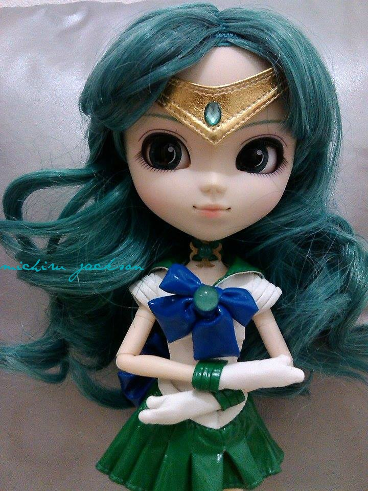 Sailor Neptune Pullip Doll by MichiruPLANET