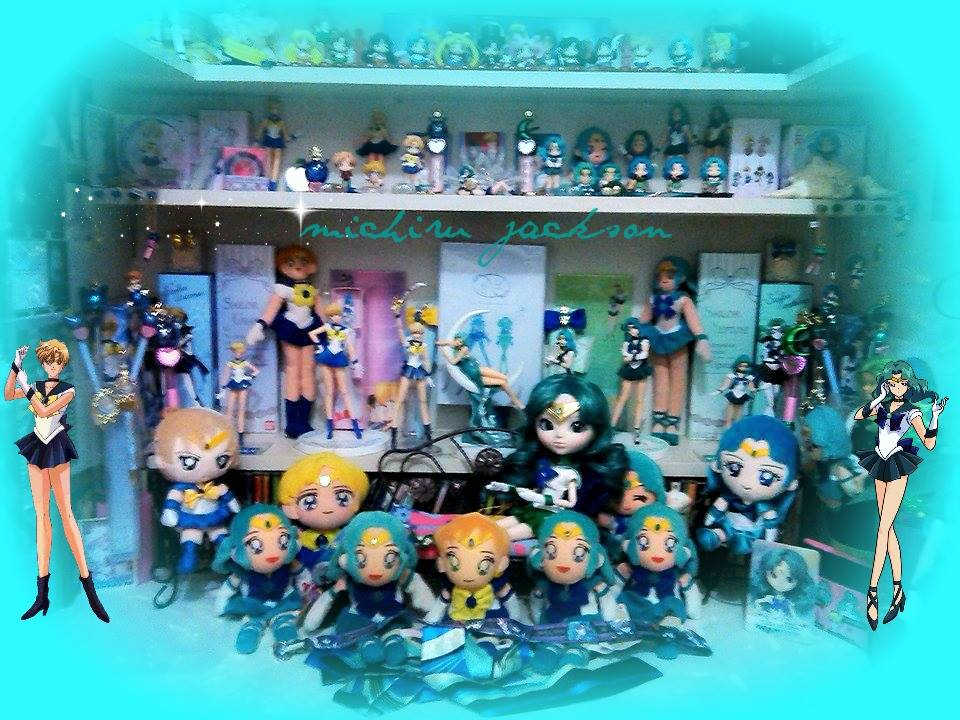 Sailor Neptune Collectibles by MichiruPLANET