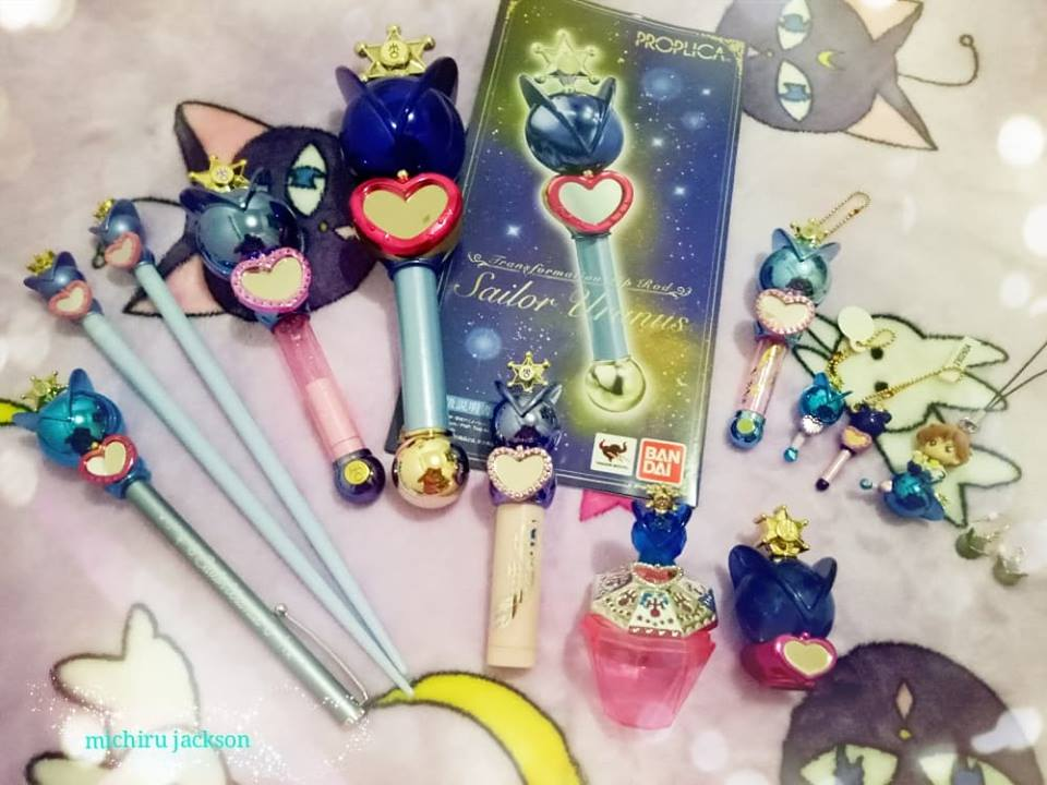 Sailor Uranus Transformation Lip Rod Merch by MichiruPLANET