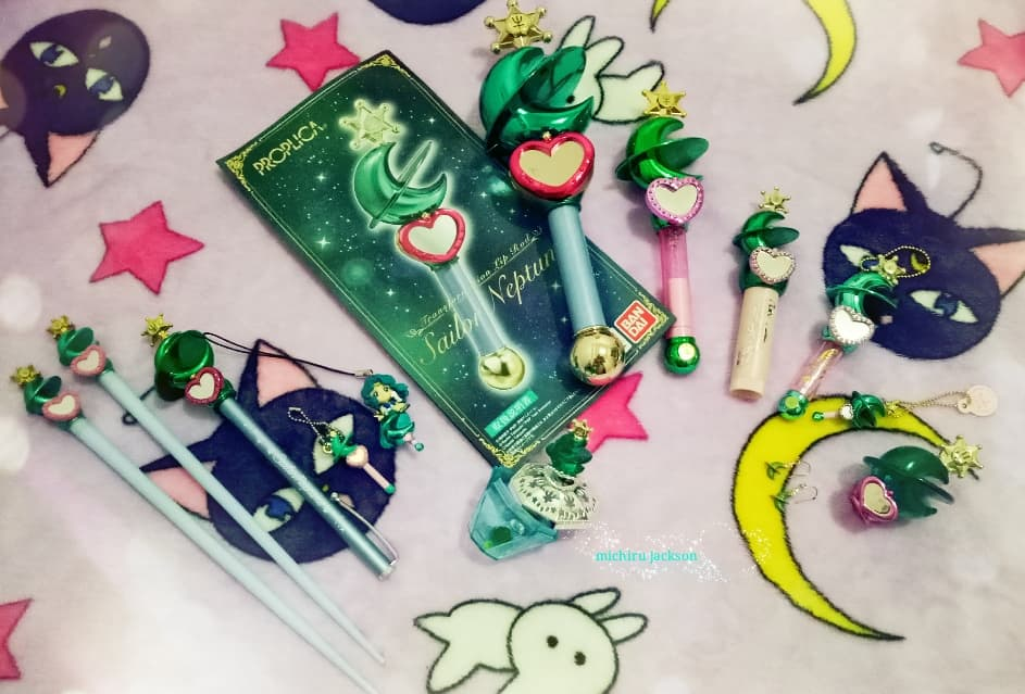 Sailor Neptune Transformation Lip Rod by MichiruPLANET