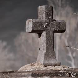 Graveyard Infrared VI by vw1956stock