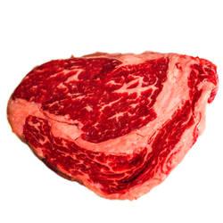 US Rib-Eye-Steak by vw1956stock
