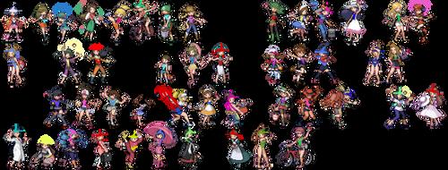 Pokemon Trainer Wedgie Sprites by Radicool332