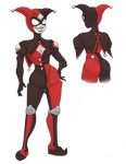 Redesign your Harley Quinn