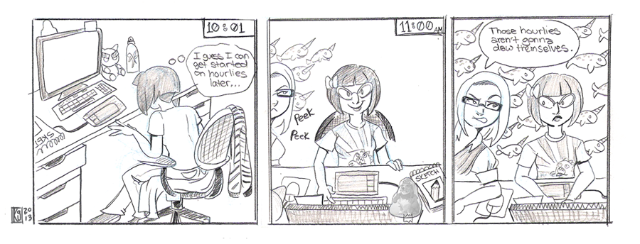 2013-hourly Comic Day-03 by kozispoon
