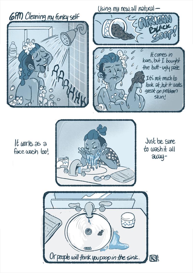 2015 Hourly Comics Day-08 by kozispoon