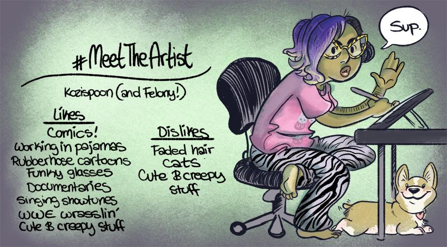 Meet The Artist by kozispoon