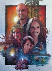 Family Adventure Movie Poster by cryjelly