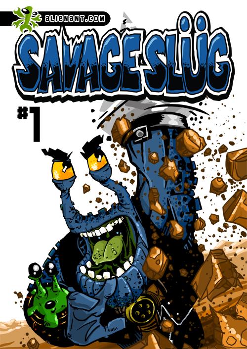 Cover for Savage Slug by darrinstephens