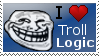 Troll Logic Stamp by SHADOWofaSTRANGER