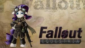 Fallout Equestria Rarity Wallpaper