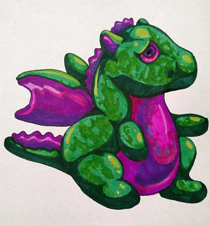Dragon Plush by Chrishankhah