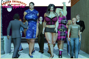 Amazon U: The Off Season Ladies' Night Out by Xen0phage