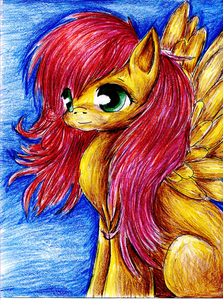 Fluttershy.. by Blood-Charm