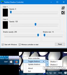 Taskbar Shadow
