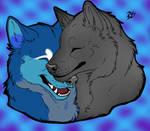 Happy Valentine's Blue by StormSoulSeeker